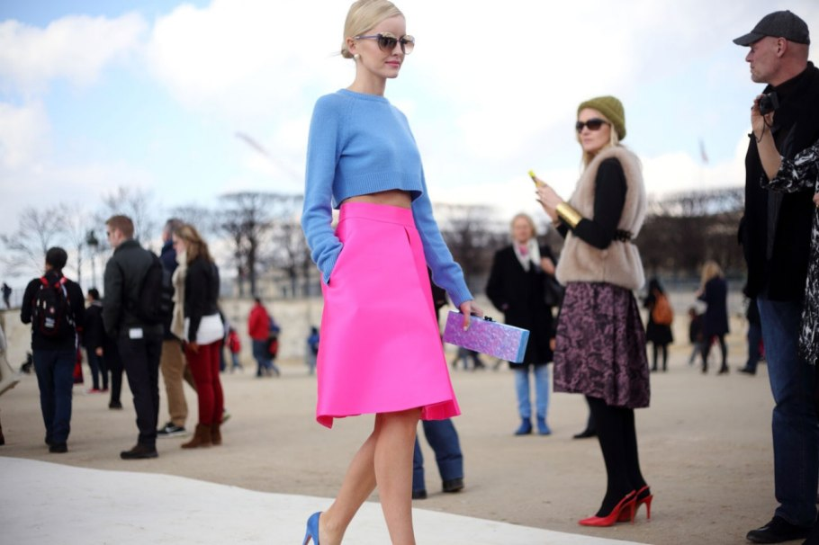 Eye Catching Color Combination - Fashion Of The Time