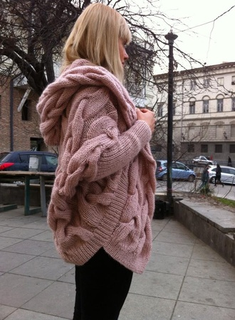 cardigan color style knitted cardigan
