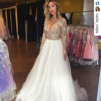dress pageant dresses formal dress sherri hill long sleeve prom dresses long sleeves evening dresses\ lace dress white lace dresss lace beaded prom dress maxi dress