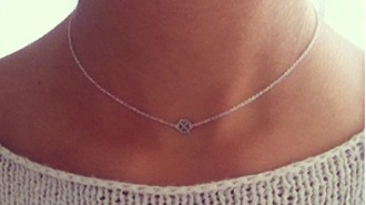 jewels necklace silver gold rose gold pendant stars heart triangle triangl neck small mini round circle