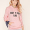 Not your bae graphic hoodie - hoodies   sweatshirts - 2000213656 - forever 21 eu english