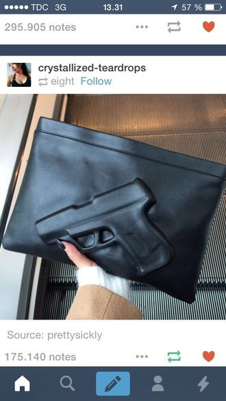 bag gun 007 black