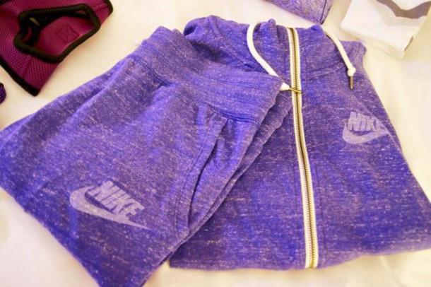 418947a505fb jumpsuit nike purple hoodie trouser jacket pants