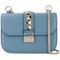 Valentino - garavani shoulder bag - women - leather - one size, blue, leather