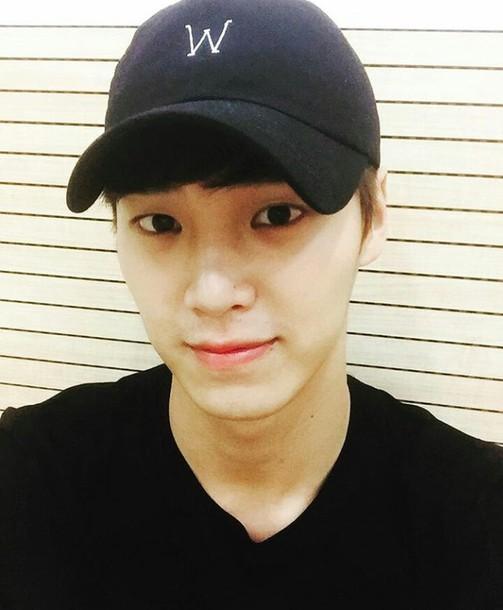 hat black black hat korean fashion korean style korean celebrities fashion 09cd10e9ca9