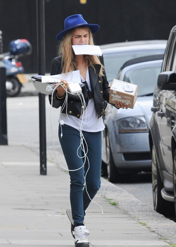 jacket cara delevingne shoes sneakers