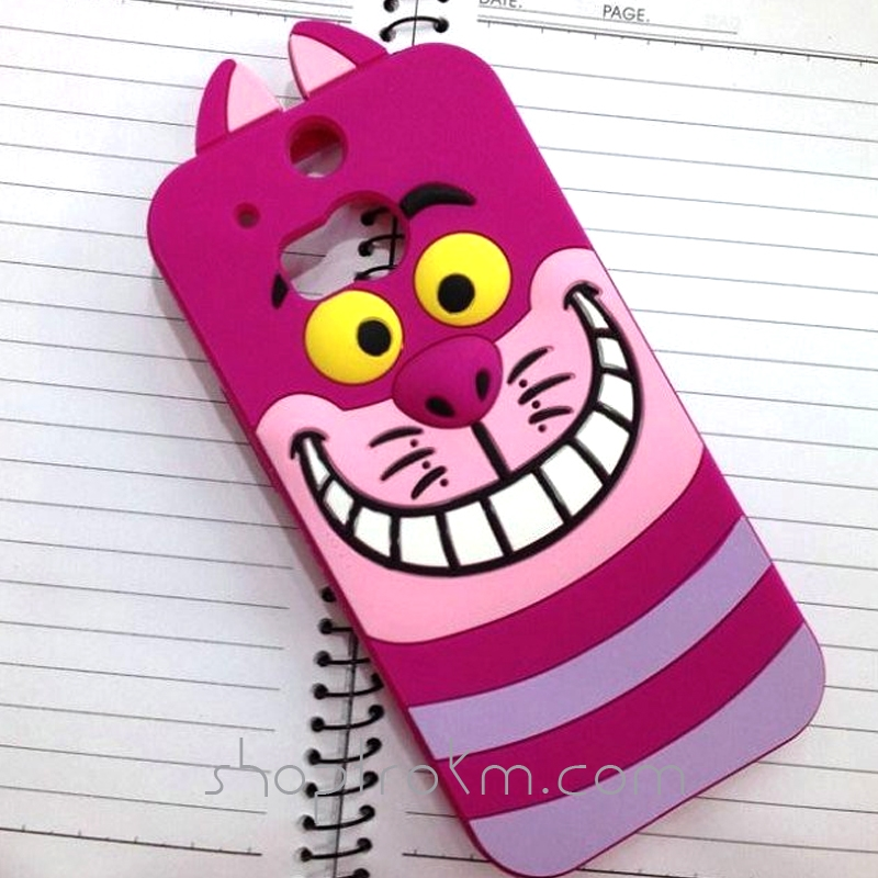Kid at heart silicone phone cases for the htc one 2 m8 phone in neat cartoon characters