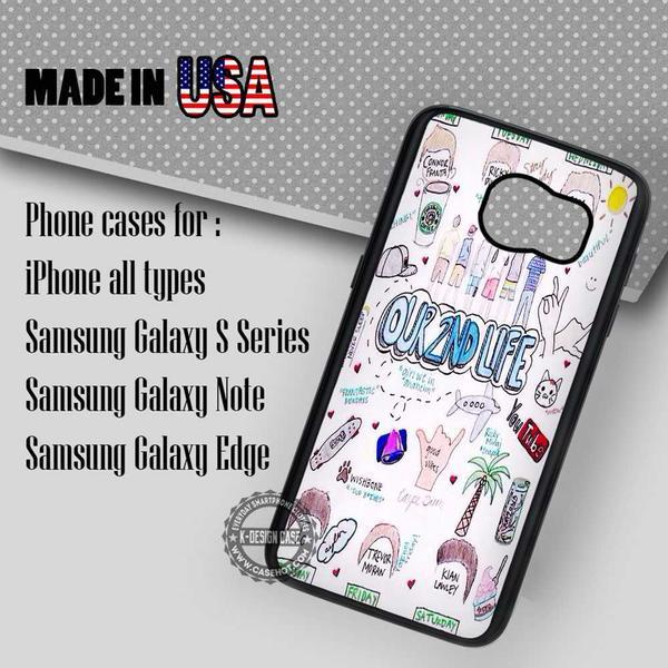 Samsung S7 Case - Art Lyric Connor Franta - iPhone Case #SamsungS7Case #O2L #yn