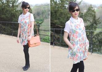 temporary secretary shirt dress coat bag shoes sunglasses