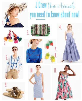 fashion foie gras blogger hat jewels bag dress top sweater shoes maxi dress spring outfits spring dress summer dress