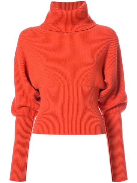 sweater turtleneck turtleneck sweater women yellow orange