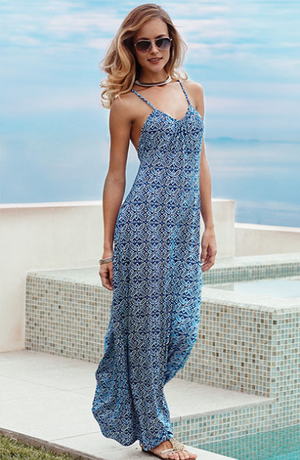Maxi Dress - Tart Collections - Beach Wahine Boutqiue - Hawaii Dresses