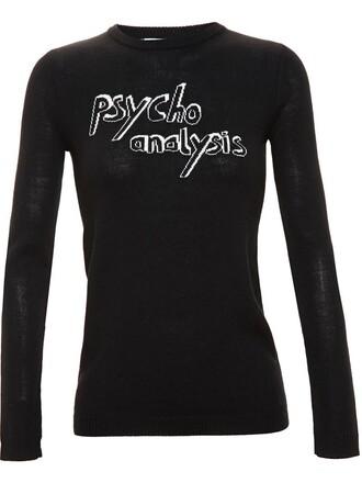 jumper black sweater