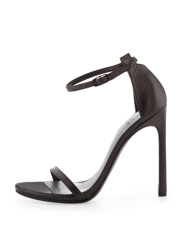 Strap sandal, black