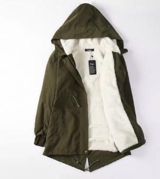 parka fur coat winter coat