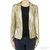 MICHAEL Michael Kors Gold Sequined Blazer / TheFashionMRKT