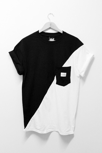 shirt black t-shirt white t-shirt