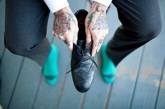 socks tattoo mens shoes menswear hipster menswear