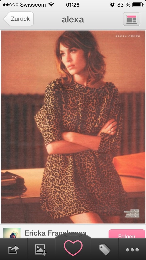 dress alexa chung leopard print skater dress