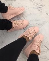 shoes,pink shoes,rose,rose shoes,rose pink,rose pink shoes,trainers,adidas,adidas trainers,superstar,adidas superstars,adidas superstar trainers,nike,nike running shoes,adidas shoes,cute,baby pink,rose gold,fashion,flat,flats,peng,instagram,pink,baddie goals