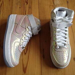 76c738f1c1f469 Nike Wmns Air Force 1 Hi Premium QS Iridescent Pearl US 11 UK 8 5 ...