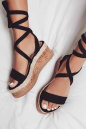 shoes,summer,summer shoes,heels,sandal heels,espadrilles,sandals,black