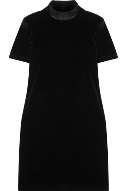 dress mini dress mini black velvet