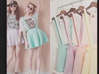 dress pastel cute