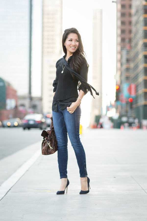 wendy's lookbook t-shirt blouse bag shoes