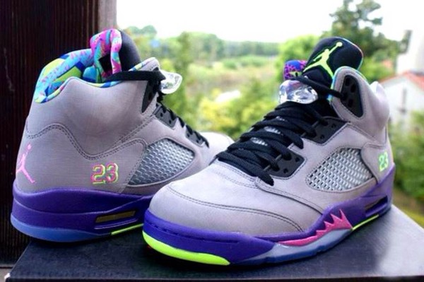 shoes air jordan 5 bel air