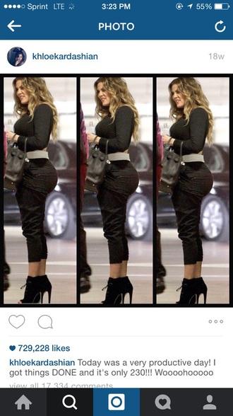 pants silky khole kardashian jumper
