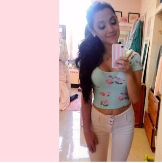 shirt gabriella demartino youtuber celebrity niki and gabi gabi demartino girly