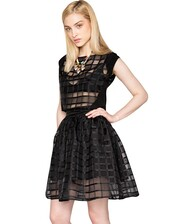 top,pixiemarket,pixie market,cage,black,crop,crop tops,skirt,sheer,mesh,organza,embroidered,skater skirt