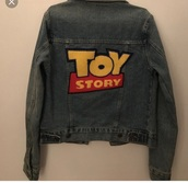 jacket,jean jackets,toy story jacket