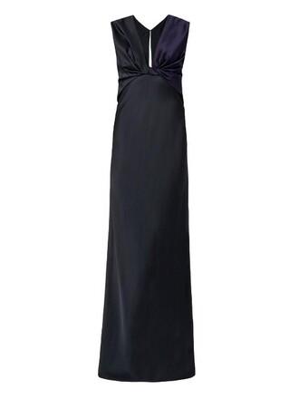 gown black dress