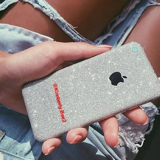 phone cover iphone follow me on instagram belindakbui shiny classy silver