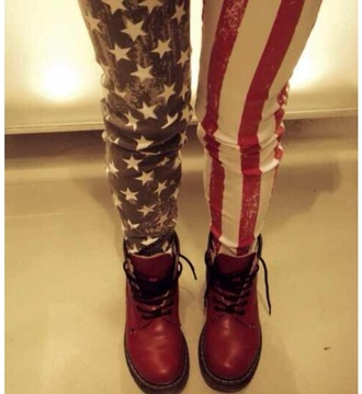 jeans american flag jeans boho indie rock hipster