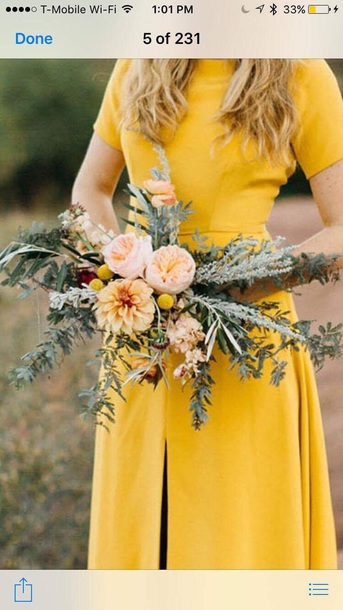 dress yellow yellow coat short sleeve dress