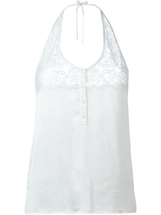 top lace top lace satin white