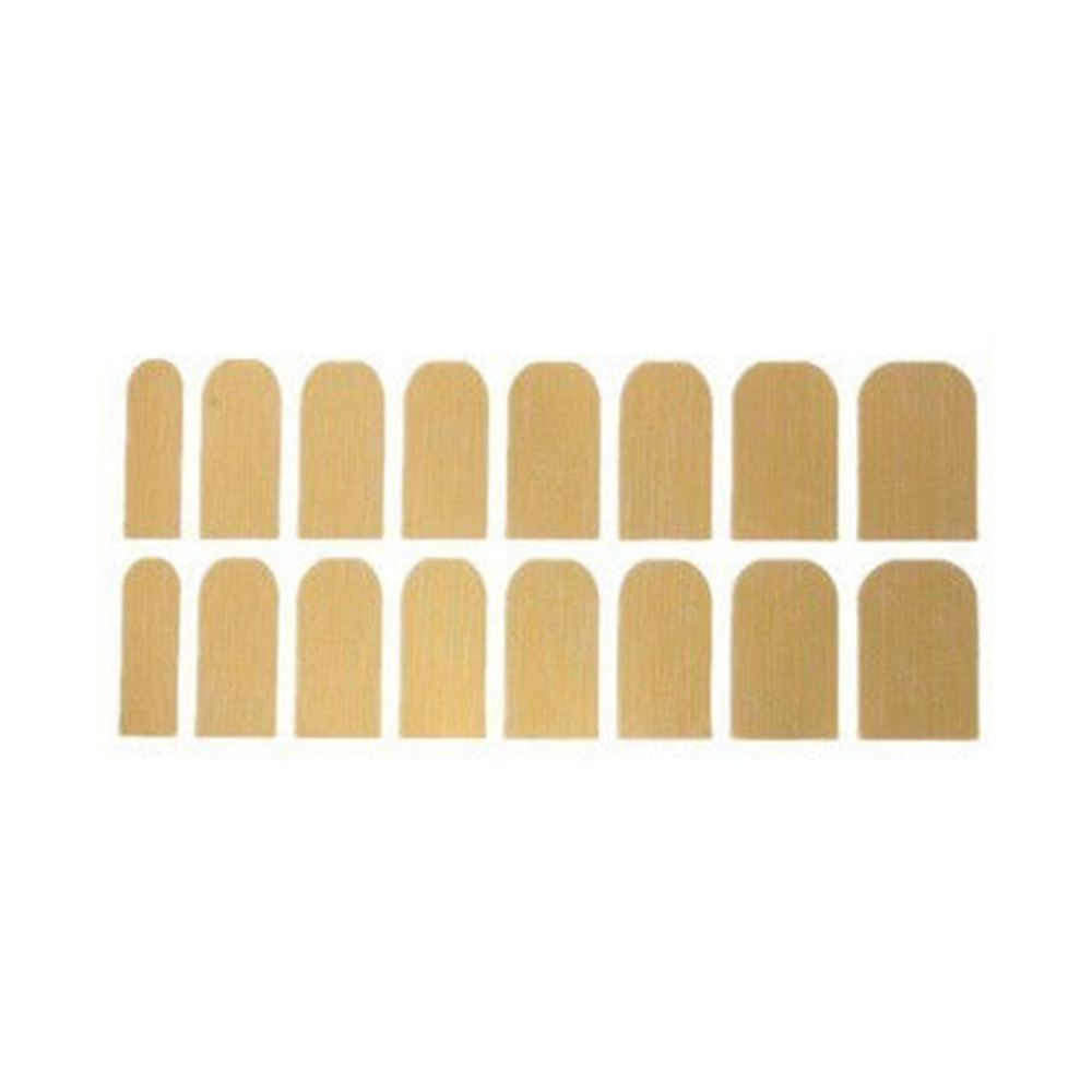 Mat shiny gold nail stickers / back order – holypink