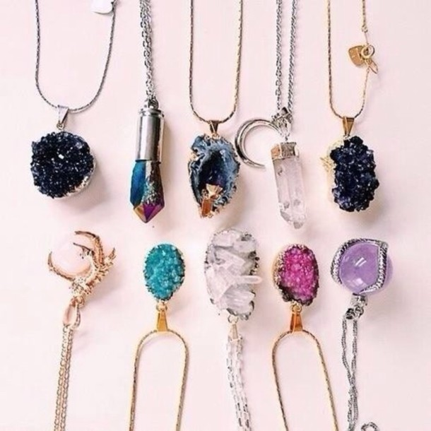 jewels golden jewels gold necklace gemstone gemstone gemstone gemstone blue stone raw stone pendant stone necklaces