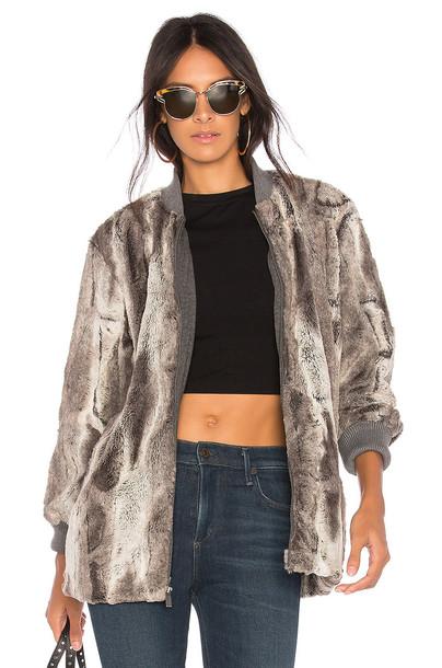 Splendid jacket faux fur jacket fur jacket fur faux fur