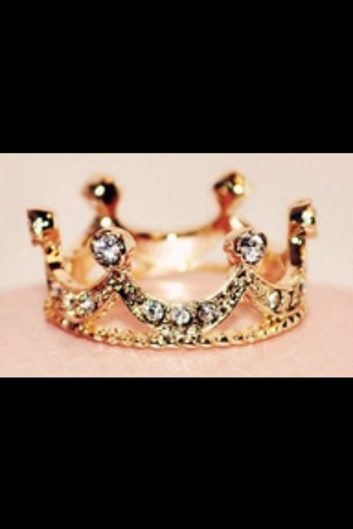 jewels ring diamonds crown beatiful