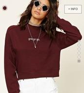sweater,sweatshirt,sunglasses,burgundy sweater,forever 21