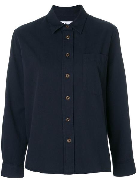 Margaret Howell shirt women cotton blue top