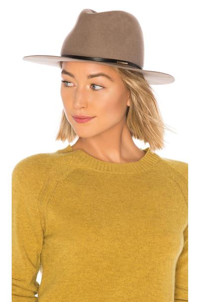 Hat Attack Bella Felt Hat in taupe