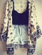 jacket,shorts,tank top,High waisted shorts,elephant sweater,crop tank,white kimono,black shirt,cut off shorts,blouse,kimono,shirt,elephant pattern kimono,elephant,hipster,black and white,clothes,cardigan,t-shirt,cream,white,pattern,indian,sweater,high waisted denim shorts,sweatshirt,thin,cool,idk,shots,fashion,candy,cute,one direction,boho,bohemian,elephants sweater cute pretty summer shorts,crop tops,summer,summer outfits,boho outfit,indie,elephant print,elephant print kimono,elephant kimono,black,indian style,indian print,japanese,japanese kimono,bralette,black bralet,crop,top,black crop top,black and white blouse,black and white kimono,denim,hot pants,denim shorts,ripped shorts,bottomand,pants,roll up shorts,light blue denim,blue denim,high waisted,caridigan,kimono elephant,beige,hippie,nature,tees,feminine,short,bright,jeans,skin,young,youth,teenagers,girl,women,eephant,tribal pattern,its really cool and neto!!,summer top,animal clothing,pullover,pretty,tumblr,outfit,print,long,bustier,bustier crop top,tumblr outfit,dress,tang top,bohofashion,cute print,whit,blue,tribal cardigan,knitted cardigan,elephant kimono black cream   c,summer dress,summer accessories,white summer dress,black dress,elphant,kimo,elephant pattern,nude,balckandwhite