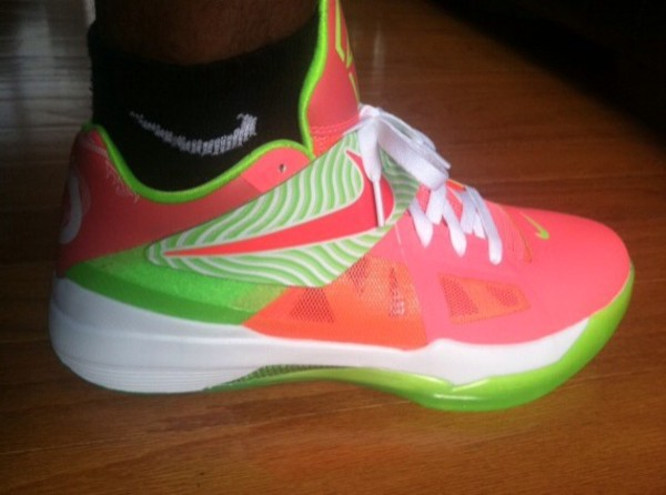 shoes kds tennis shoes watermelon print