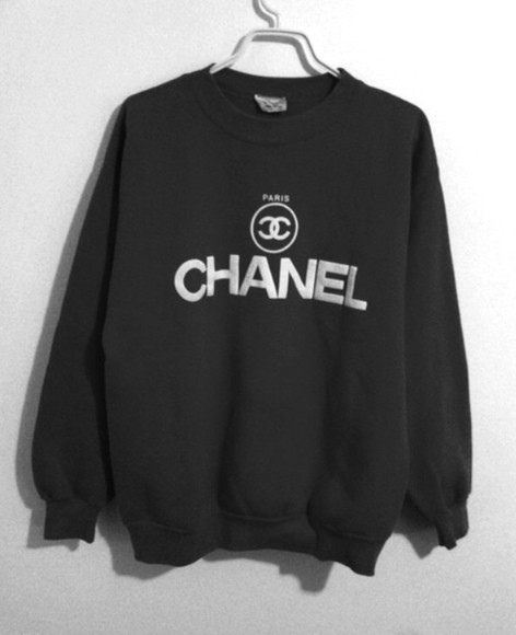 sweater jumper clothes chanel