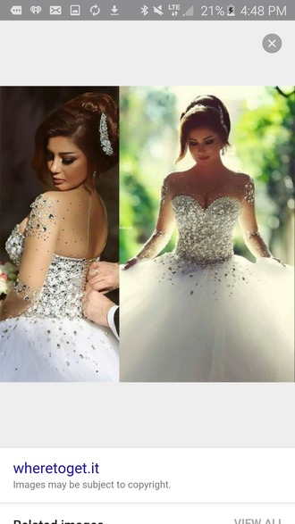 dress wedding dress wedding clothes wedding wedding ring pearl
